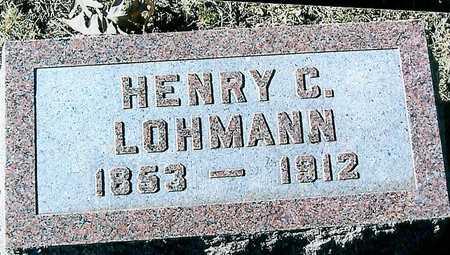 LOHMANN, HENRY C - Boone County, Iowa | HENRY C LOHMANN