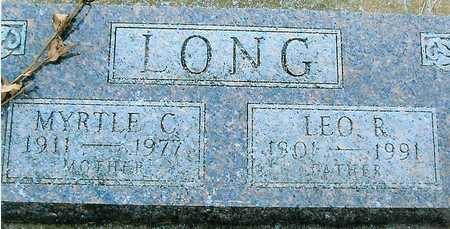 LONG, LEO R. - Boone County, Iowa | LEO R. LONG