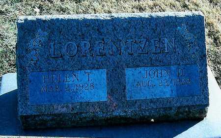 LORENTZEN, JOHN D. - Boone County, Iowa | JOHN D. LORENTZEN