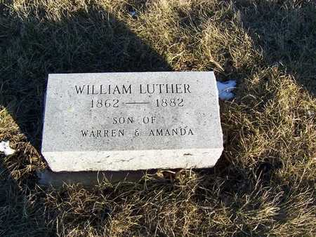 LUTHER, WILLIAM - Boone County, Iowa | WILLIAM LUTHER