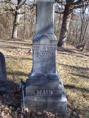MAIN, THOMAS - Boone County, Iowa | THOMAS MAIN