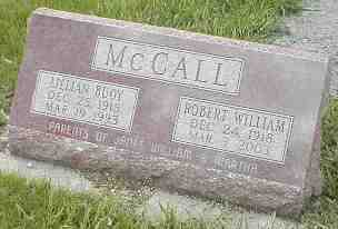 MCCALL, ROBERT WILLIAM - Boone County, Iowa | ROBERT WILLIAM MCCALL