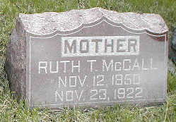 WHITEHEAD MCCALL, RUTH T. - Boone County, Iowa | RUTH T. WHITEHEAD MCCALL
