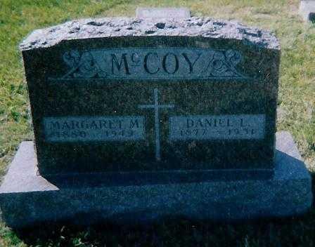 MCCOY, MARGARET M. - Boone County, Iowa | MARGARET M. MCCOY