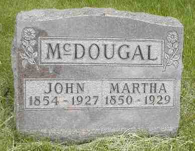 MCDOUGAL, MARTHA - Boone County, Iowa | MARTHA MCDOUGAL