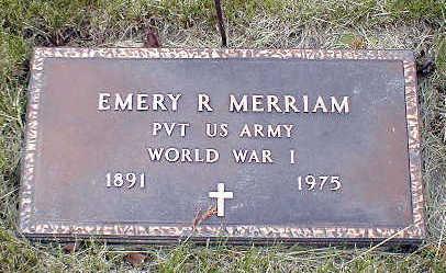 MERRIAM, EMERY R. - Boone County, Iowa | EMERY R. MERRIAM