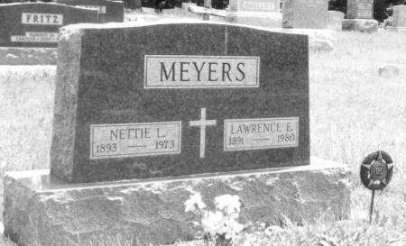 MEYERS, NETTIE (WARNKE) AND LAWRENCE - Boone County, Iowa | NETTIE (WARNKE) AND LAWRENCE MEYERS