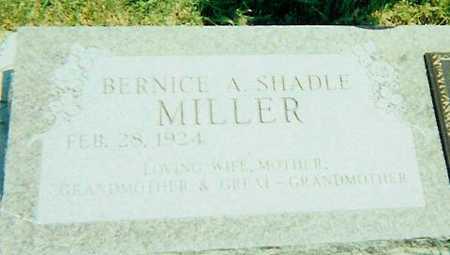 SHADLE MILLER, BERNICE A. - Boone County, Iowa | BERNICE A. SHADLE MILLER