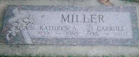 MILLER, O. CARROLL - Boone County, Iowa | O. CARROLL MILLER