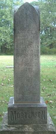 MORTENSEN, ANDREA - Boone County, Iowa | ANDREA MORTENSEN