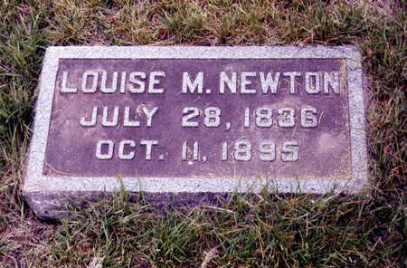 MARVIN NEWTON, LOUISE - Boone County, Iowa | LOUISE MARVIN NEWTON