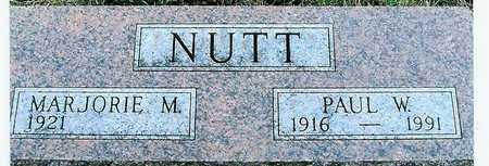 NUTT, MARJORIE M. - Boone County, Iowa | MARJORIE M. NUTT