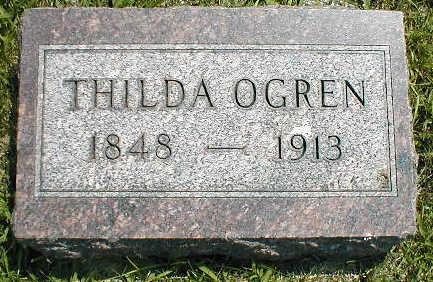 OGREN, THILDA - Boone County, Iowa | THILDA OGREN