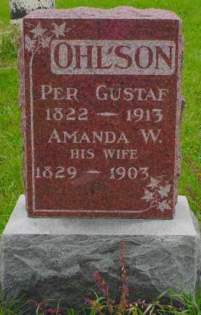 OHLSON, PER GUSTAF - Boone County, Iowa | PER GUSTAF OHLSON