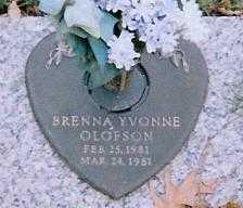 OLFSON, BRENNA YVONNE - Boone County, Iowa | BRENNA YVONNE OLFSON