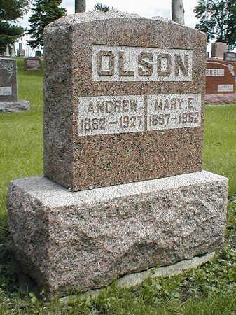 OLSON, MARY E. - Boone County, Iowa | MARY E. OLSON