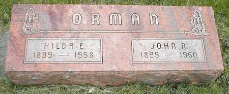 ORMAN, JOHN R. - Boone County, Iowa | JOHN R. ORMAN