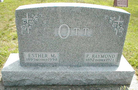 OTT, ESTHER M. - Boone County, Iowa | ESTHER M. OTT