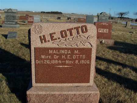 OTTO, MALINDA M. - Boone County, Iowa | MALINDA M. OTTO