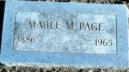 PAGE, MABEL M. - Boone County, Iowa | MABEL M. PAGE