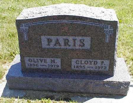 PARIS, CLOYD P. - Boone County, Iowa | CLOYD P. PARIS