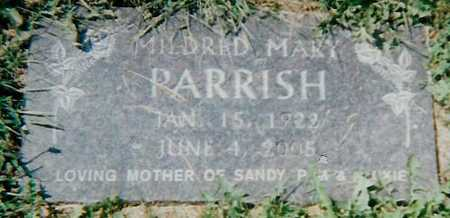 PARRISH, MILDRED MARY - Boone County, Iowa | MILDRED MARY PARRISH
