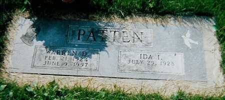 PATTEN, WARREN D - Boone County, Iowa | WARREN D PATTEN