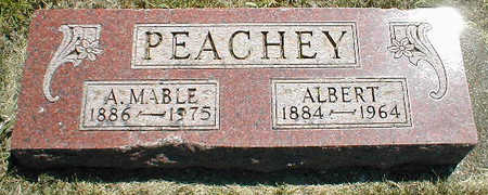 PEACHEY, A. MABEL - Boone County, Iowa | A. MABEL PEACHEY
