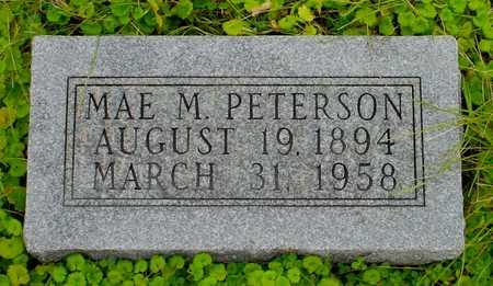 PETERSON, MAE M. - Boone County, Iowa | MAE M. PETERSON