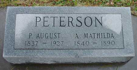 PETERSON, A. MATHILDA - Boone County, Iowa   A. MATHILDA PETERSON