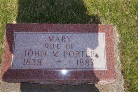 PORTER, MARY - Boone County, Iowa | MARY PORTER