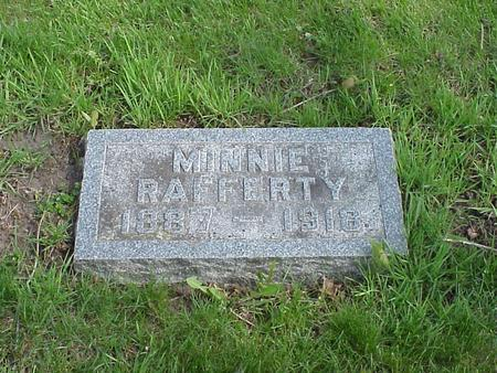 SEAVERT RAFFERTY, MINNIE - Boone County, Iowa | MINNIE SEAVERT RAFFERTY