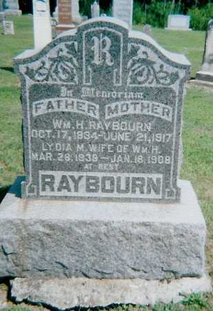RAYBOURN, WILLIAM H - Boone County, Iowa | WILLIAM H RAYBOURN
