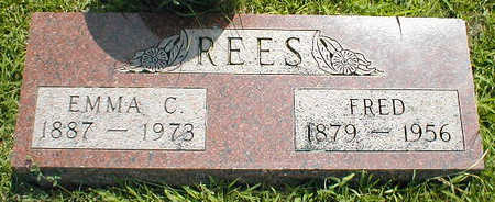 REES, FRED - Boone County, Iowa | FRED REES