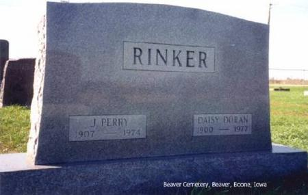 RINKER, J. PERRY AND DAISY (DORAN) - Boone County, Iowa | J. PERRY AND DAISY (DORAN) RINKER