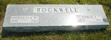 ROCKWELL, PERDETTA B. - Boone County, Iowa | PERDETTA B. ROCKWELL