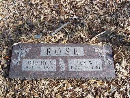 ROSE, DOROTHY M. - Boone County, Iowa | DOROTHY M. ROSE
