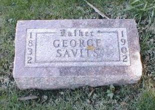 SAVITS, GEORGE WASHINGTON - Boone County, Iowa | GEORGE WASHINGTON SAVITS