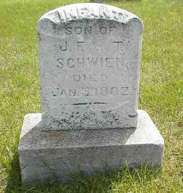 SCHWIEN, INFANT SON - Boone County, Iowa | INFANT SON SCHWIEN