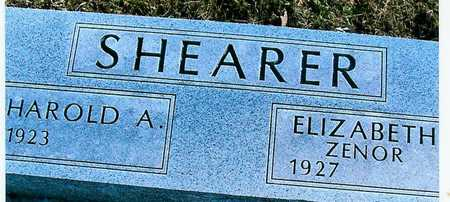 SHEARER, ELIZABETH (ZENOR) - Boone County, Iowa | ELIZABETH (ZENOR) SHEARER