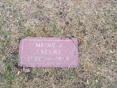 SKEENS, MAYME J. - Boone County, Iowa | MAYME J. SKEENS
