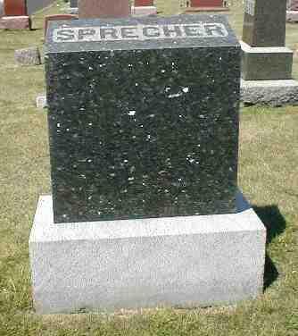 SPRECHER, MONUMENT - Boone County, Iowa | MONUMENT SPRECHER