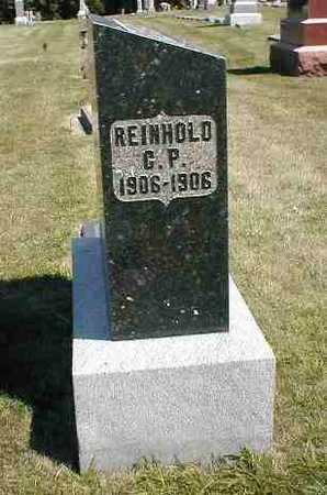 SPRECHER, REINHOLD C.P. - Boone County, Iowa | REINHOLD C.P. SPRECHER