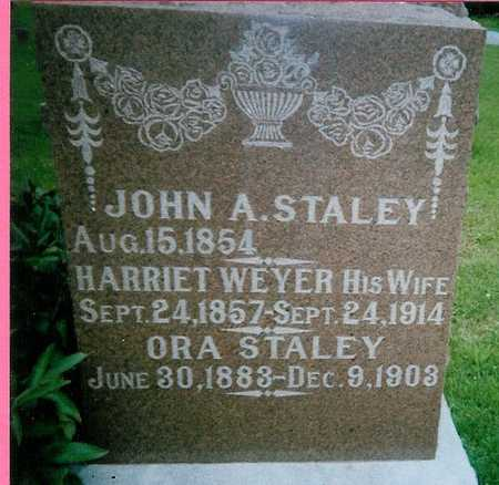 STALEY, JOHN A - Boone County, Iowa | JOHN A STALEY
