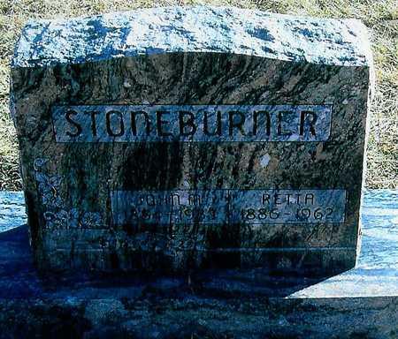 STONEBURNER, RETTA - Boone County, Iowa | RETTA STONEBURNER