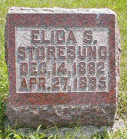 STORESUND, ELIDA S. - Boone County, Iowa | ELIDA S. STORESUND