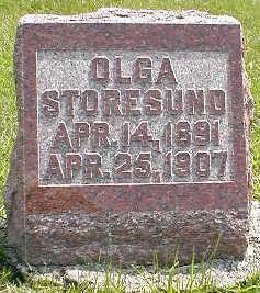 STORESUND, OLGA - Boone County, Iowa | OLGA STORESUND
