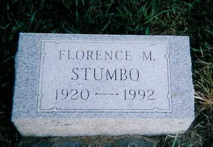 STUMBO, FLORENCE M. - Boone County, Iowa | FLORENCE M. STUMBO