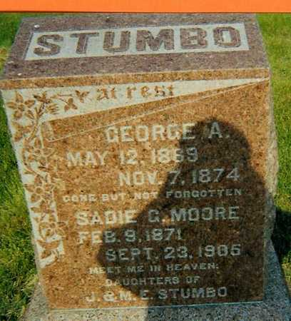 STUMBO, GEORGE A - Boone County, Iowa | GEORGE A STUMBO