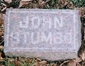 STUMBO, JOHN - Boone County, Iowa | JOHN STUMBO